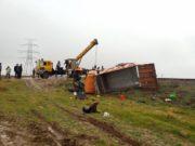 قطار رشت – تهران در آبیک حادثه آفرید