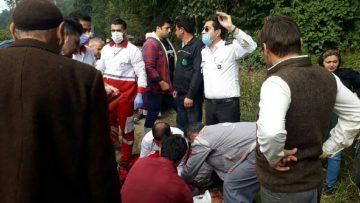 نجاتگران پایگاههای امداد و نجات هلال احمر گیلان به ۶ حادثه دیده امدادرسانی کردند