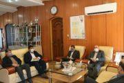 دیدار ۲ تن از نمایندگان  مردم گیلان در مجلس شورای اسلامی   با مدیر کل حفاظت محیط زیست گیلان