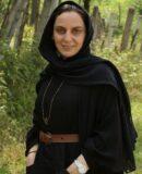 نسرین بابایی ایفاگر نقش طاهره دباغ در سریال خداحافظ مادر